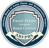 Ameican Board of Facial Plastic and Reconstructive Surgery Board Certified